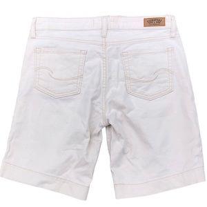 Levi's Signature Khaki Denim Shorts Misses Size 12